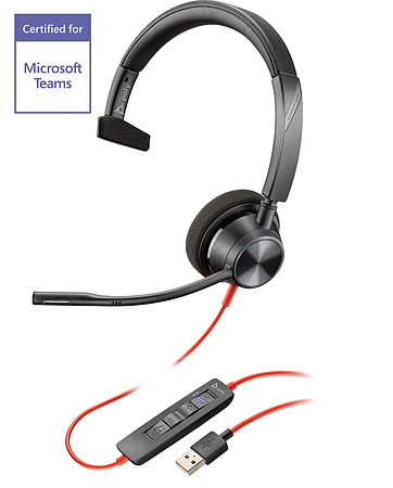 Plantronics Blackwire BW3310-M USB Headset