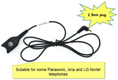 Sennheiser 2.5mm Cable CCEL 190-2