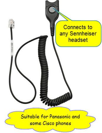 Sennheiser CSTD24 Headset Cable