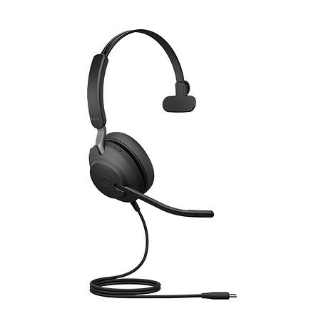 Jabra Evolve2 40 - USB-A MS Teams Mono Headset
