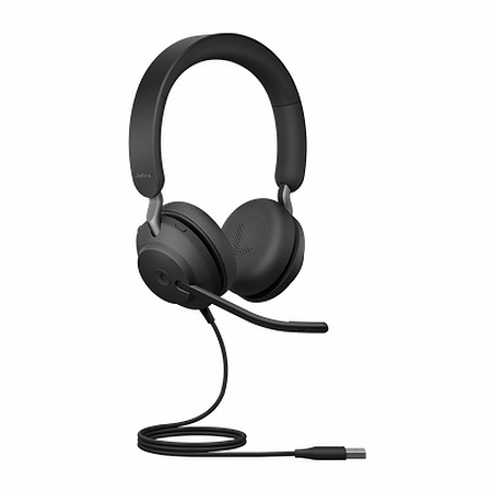 Jabra Evolve2 40 - USB-A MS Teams Stereo Headset