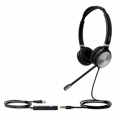 Yealink UH36 Stereo Teams Headset USB and 3.5mm