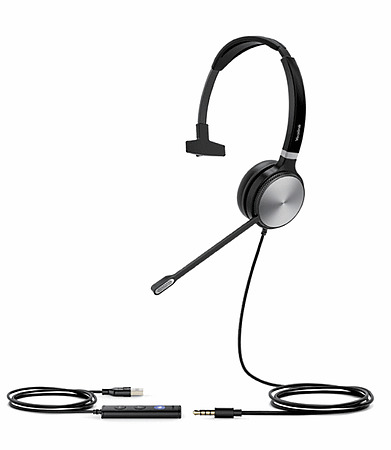 Yealink UH36 Mono Teams Headset USB and 3.5mm