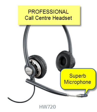 Plantronics HW720 EncorePro Headset