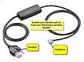 Siemens APS-11 EHS Cable for Plantronics
