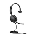 Jabra Evolve2 40 - USB-A MS Teams Mono Headset