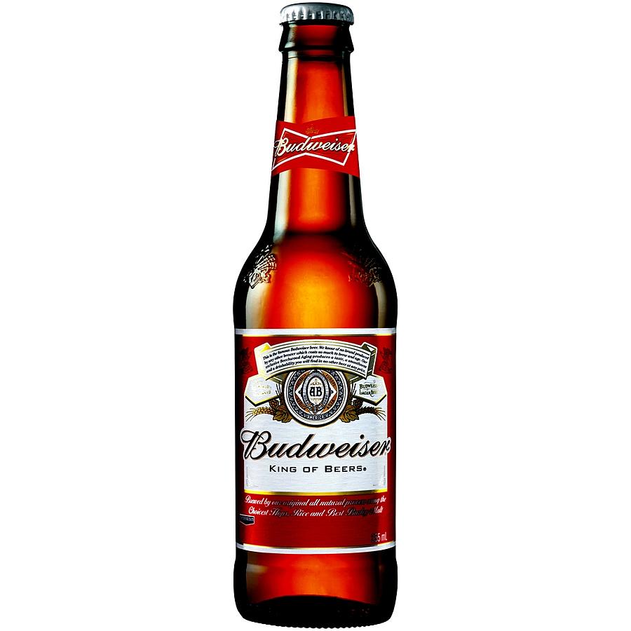 Budweiser 355ml - Image 1