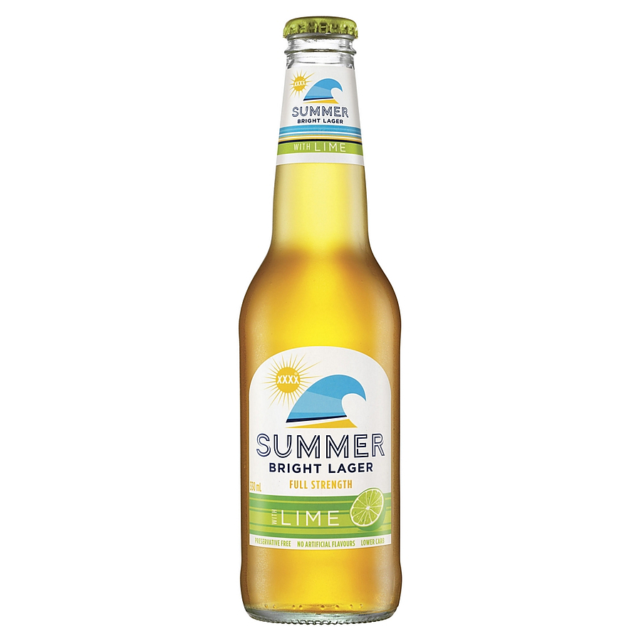 XXXX Summer Lime Stubby - Image 1