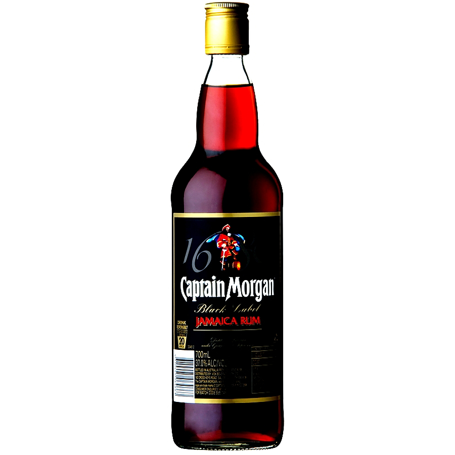 Captain Morgan Jamaica Black Rum 700ml - Image 1