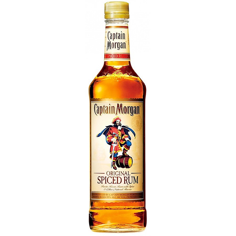 Captain Morgan Original Spiced Gold Rum - Image 1