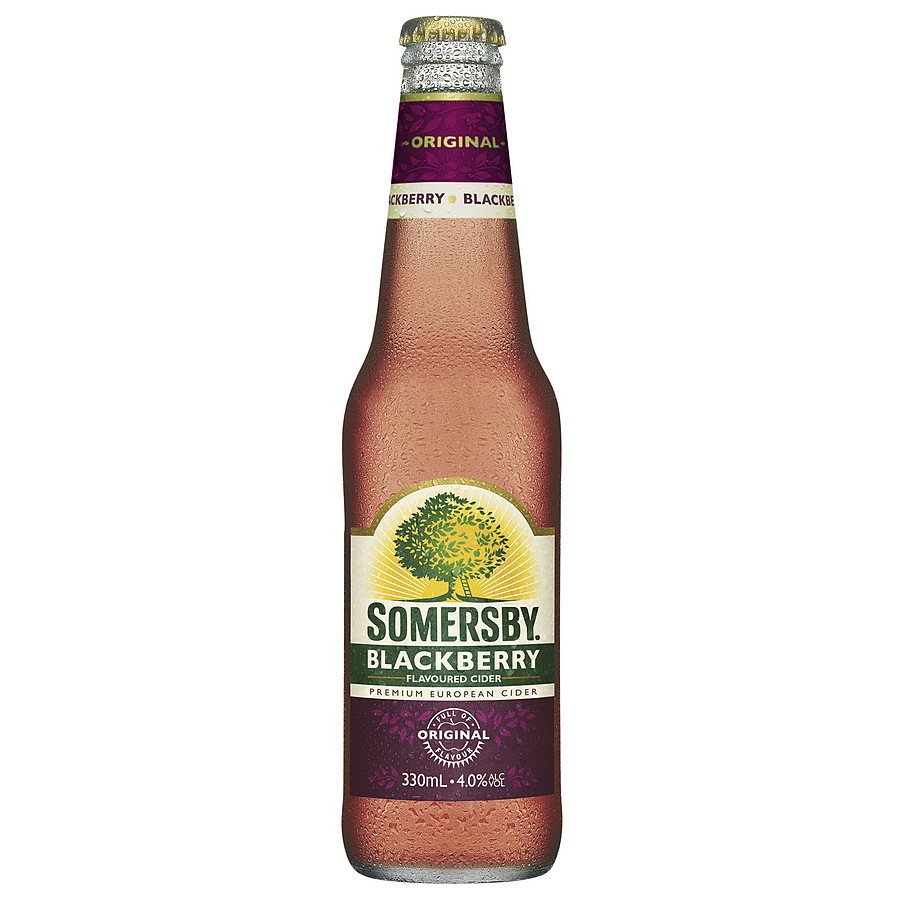 Somersby 4% Blackberry Cider 330ml Bottle