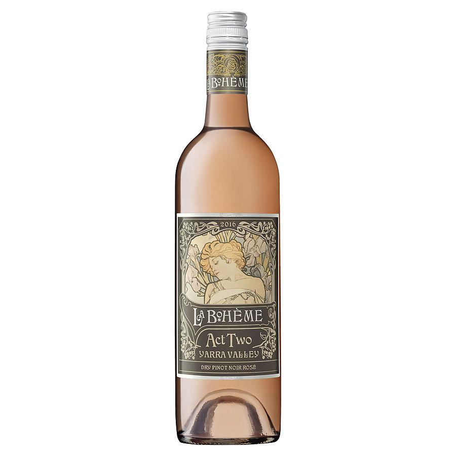 La Boheme Act 2 Dry Pinot Noir Rosé 750m - Image 1