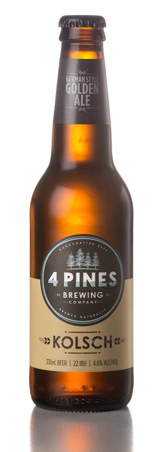 4 Pines Brew Kolsch - Image 1