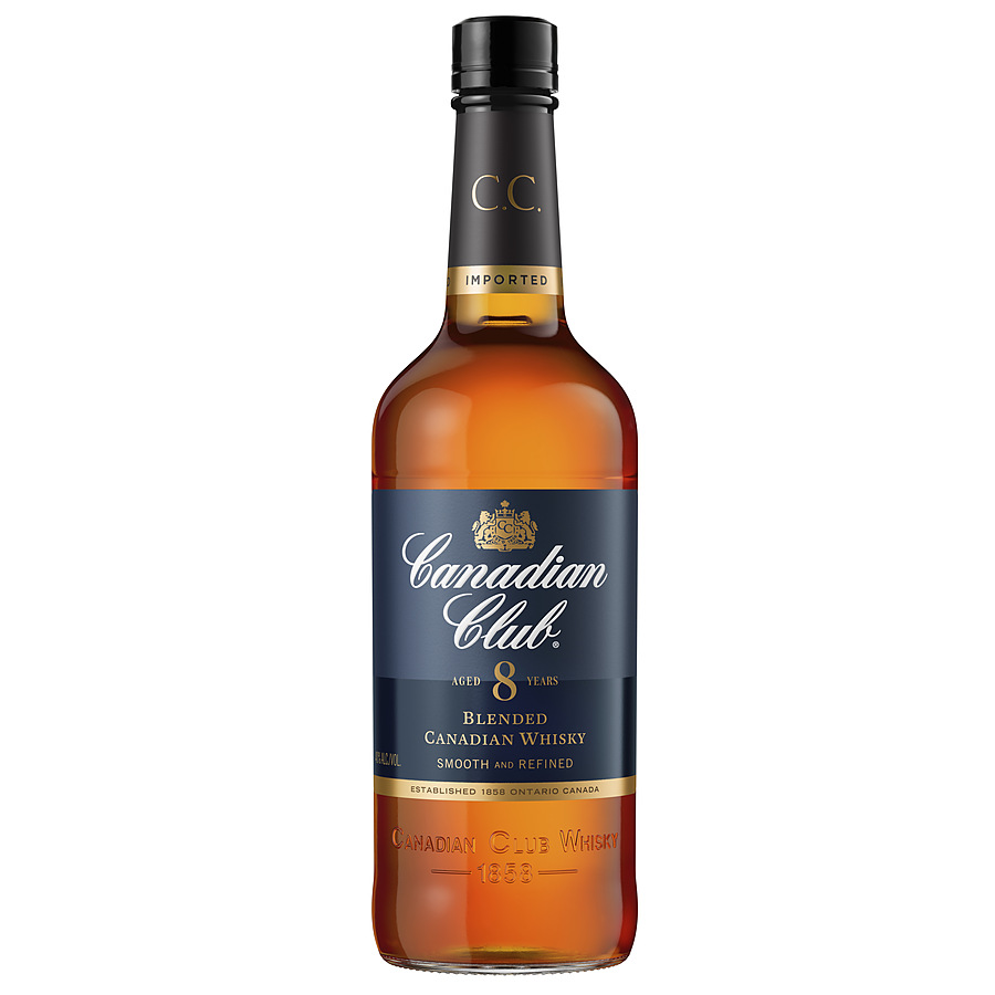 Canadian Club Aged 8 Years Whisky 700ml - Image 1