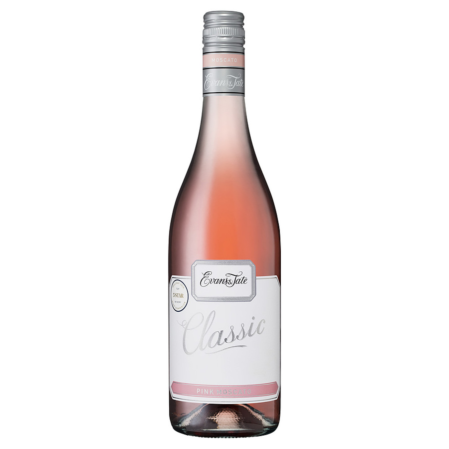 Evans And Tate Classic Pink Moscato - Image 1