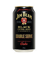 more on Jim Beam Black Double Serve 6.9% Can