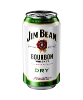 more on Jim Beam White Label And Dry 4.8% Can