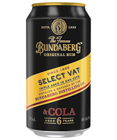 more on Bundaberg Select Vat Rum And Cola 6% Can