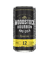 more on Woodstock Bourbon And Cola 12% 200ml Can
