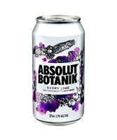 more on Absolut Botanik 4.8% Berry Lime Can