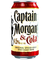 more on Captain Morgan Spiced Gold And Cola 4.5%