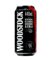 more on Woodstock Bourbon And Cola 4.8% 440ml Can