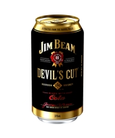 more on Jim Beam Devil's Cut Bourbon And Cola Can