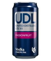 more on Udl Vodka And Passionfruit 4% 375ml Can