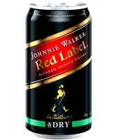 more on Johnnie Walker Red Label And Dry 4.6% 375m