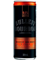 more on Bulleit Bourbon And Cola 9% 250ml Can