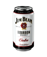 more on Jim Beam White Label And Cola 4.8% Can