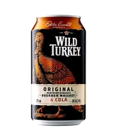 more on Wild Turkey Bourbon And Cola 4.8% Can 375m
