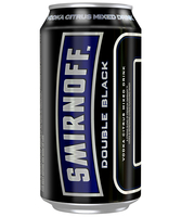 more on Smirnoff Ice Double Black 6.5% 375ml Can