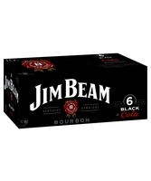 more on Jim Beam Black Label And Cola 6% Can 10 Pack