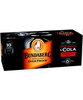 more on Bundaberg O.P. Rum And Cola 6% Can 10 Pack