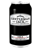 more on Gentleman Jack And Cola 6% 375ml Can