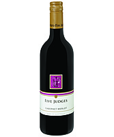 more on Five Judges Cabernet Merlot