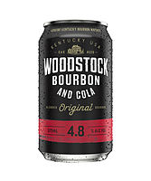 more on Woodstock Bourbon And Cola 4.8% 375ml Can