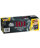 more on Wild Turkey 101 12 Pack Can