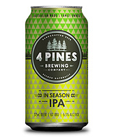 more on 4 Pines Brewing In Season Ipa Can 375ml