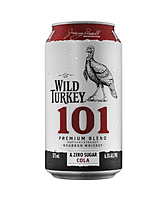 more on Wild Turkey 101 Bourbon And Zero Cola Can