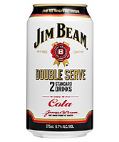 more on Jim Beam Double Serve 6.7% Cola Can 375m