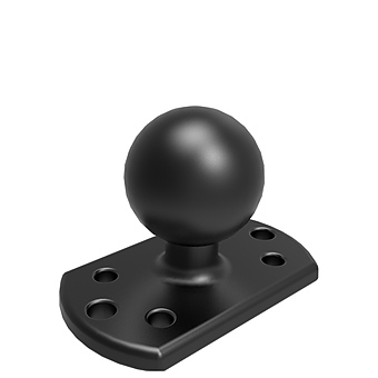 RAM-202U-CR01  BASE FOR CROWN LIFT TRUCKS 1.5 INCH BALL