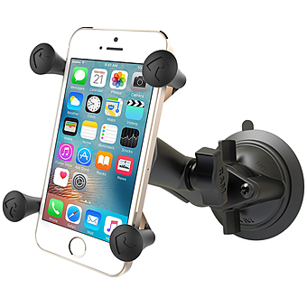 RAM-B-166-UN7U SUCTION CUP MOUNT UNIVERSAL X- GRIP