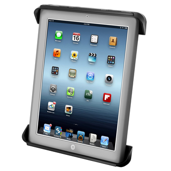RAM-HOL-TAB-3U  RAM Tab-Tite� Cradle for the Apple iPad 1-4 WITH OR WITHOUT LIGHT DUTY CASE