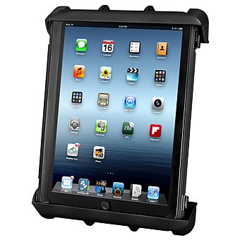 RAM-HOL-TABL8U  RAM Tab-Lock� Locking Cradle for 10inch Screen Tablets WITH HEAVY DUTY CASES including the Apple iPad 1-4
