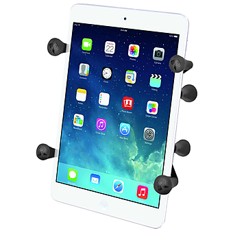 RAM-HOL-UN8BU  RAM UNIVERSAL X-GRIP HOLDER FOR 7 INCH TABLETS W 1 INCH BALL