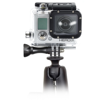 RAP-B-202U-GOP1  RAM 1 INCH BALL WITH CUSTOM GOPRO HERO ADAPTER
