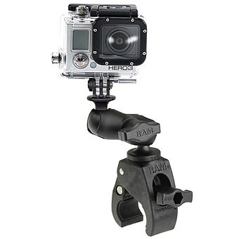 RAP-B-400-A-GOP1U  TOUGH CLAW SHORT ARM AND GOPRO BASE