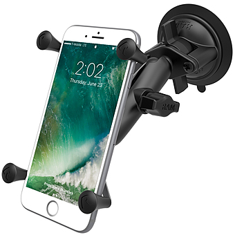 RAM-B-166-UN10U SUCTION CUP MOUNT UNIVERSAL X-GRIP LARGE PHONES